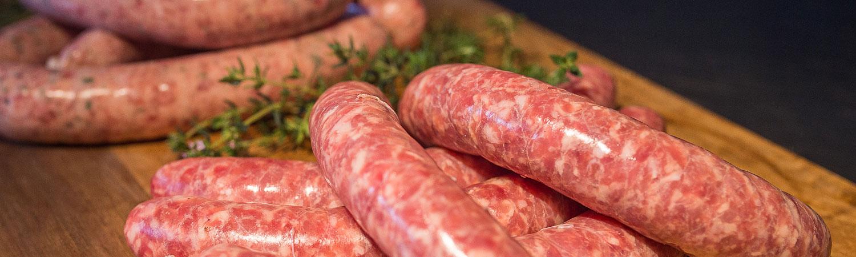 Saucisse porc/boeuf 500 gr
